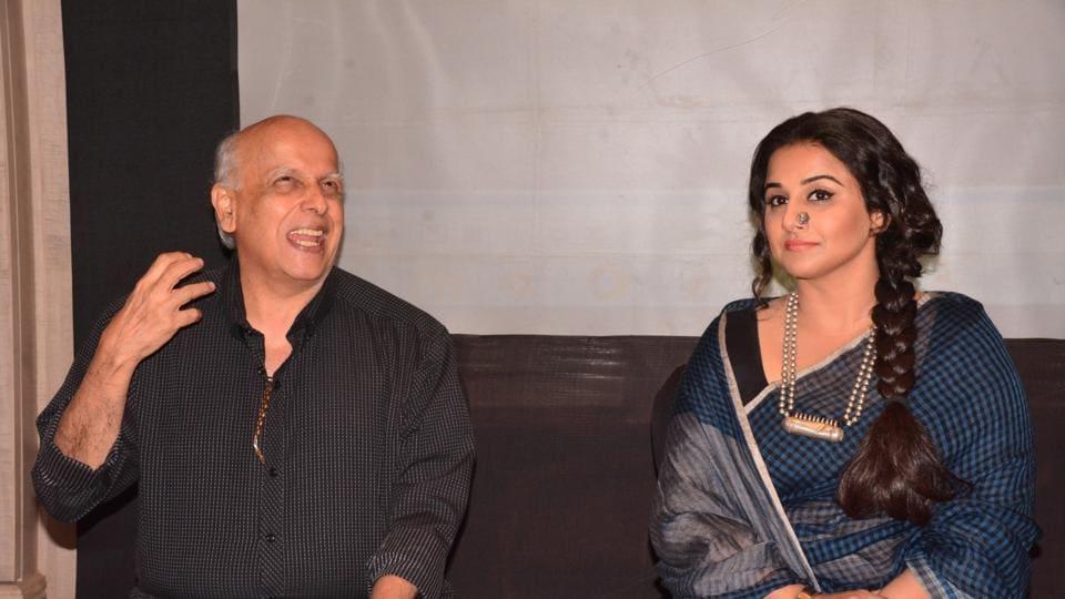 Vidya Balan,Begum Jaan,Mahesh Bhatt.