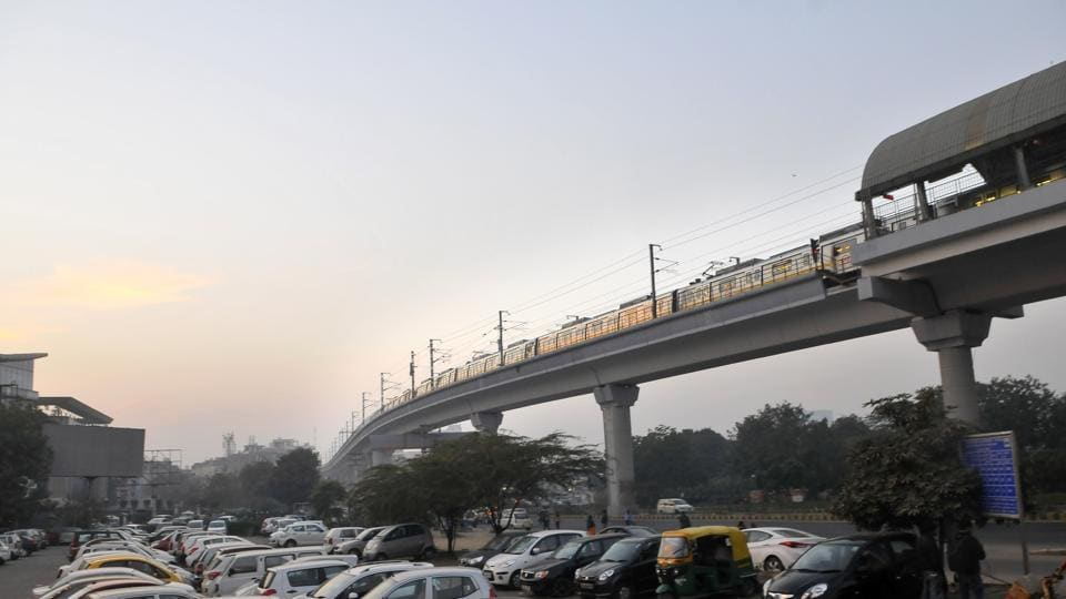 Exit at 12 stations in central Delhi will not be allowed from 8pm on Sunday.