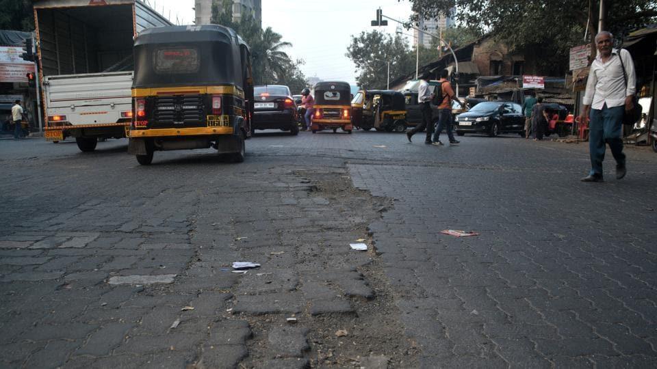Road scam,BMC,Ajoy Mehta