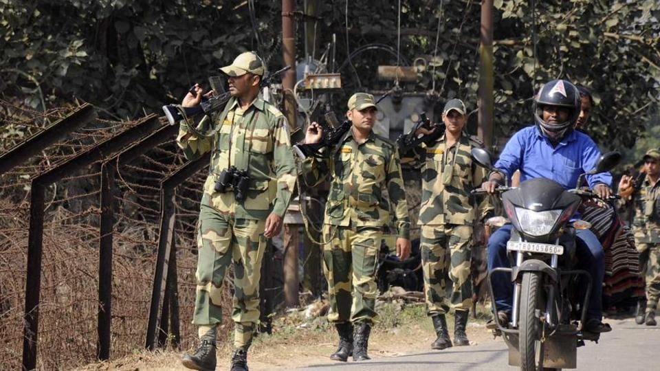 BSF Firing,Shutdown,Tripura tribals