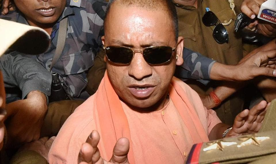 Yogi Adityanath takes oath as 21st CM of UP