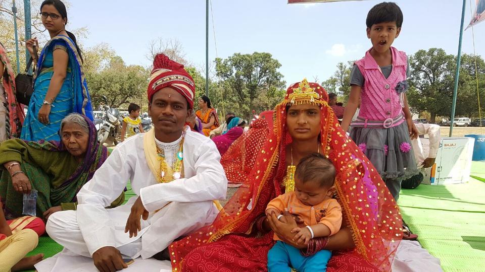 The physically challenged couple had to run from pillar to post to solemnise their wedding.