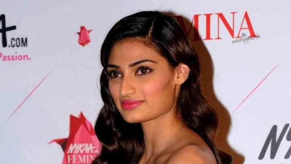 Indian Bollywood actress Athiya Shetty attends the Femina Awards ceremony in Mumbai on February 5, 2016. (AFP file Photo)