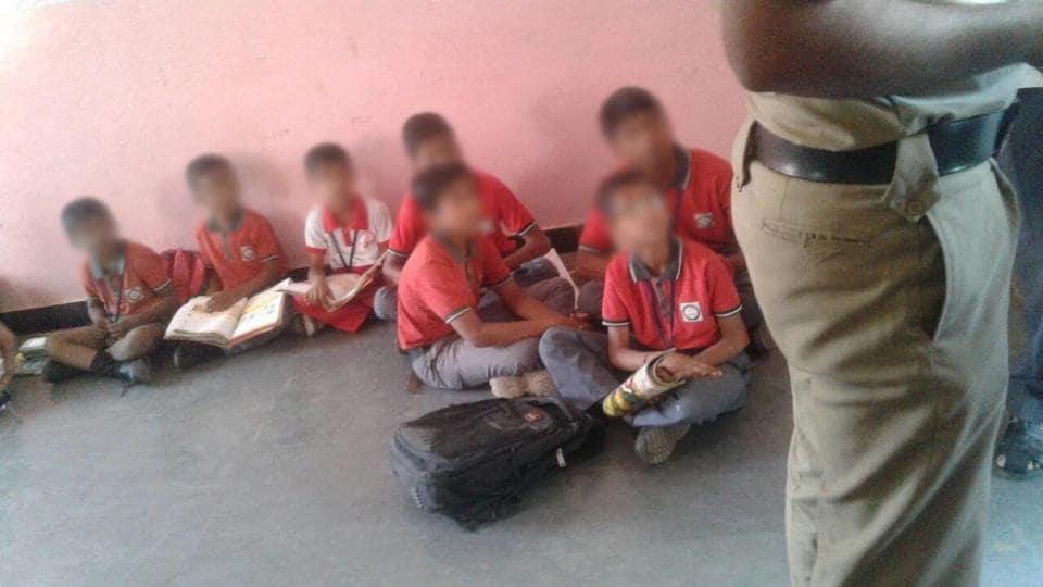 A private school in Hyderabad allegedly confined 19 students after their parents didn't pay the tuition fee on time.