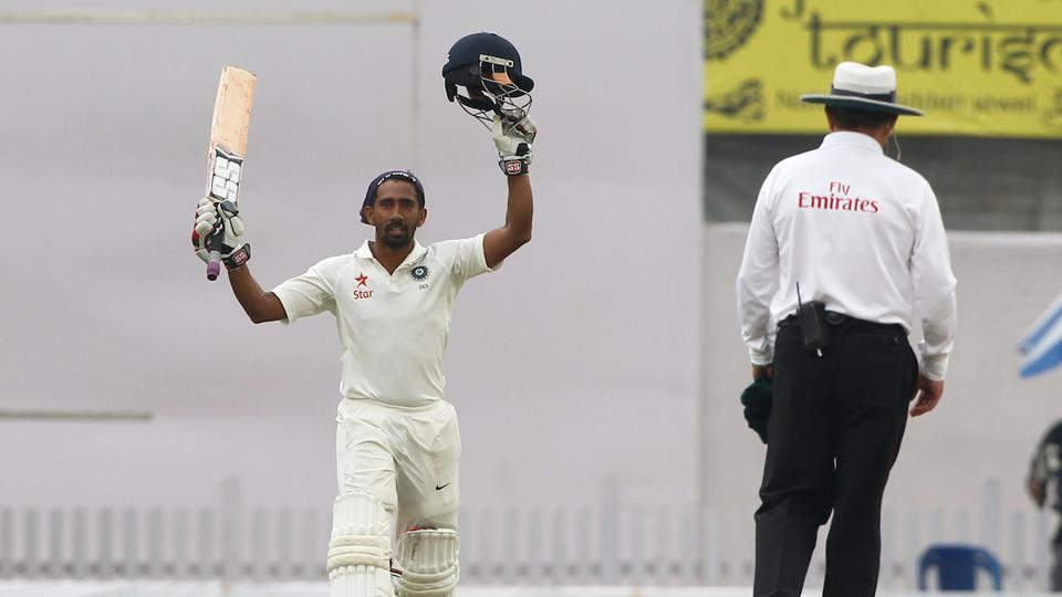 Wriddhiman Saha notched up his third Test century and first against Australia as they piled on the runs in the Ranchi Test.