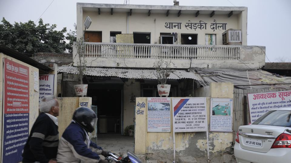 An FIR was filed at the Kherki Daula police station and the driver was arrested.