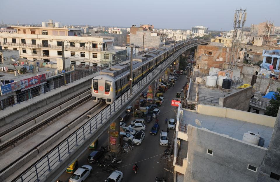 All restrictions planned for the Delhi metro train services from Monday have been lifted.