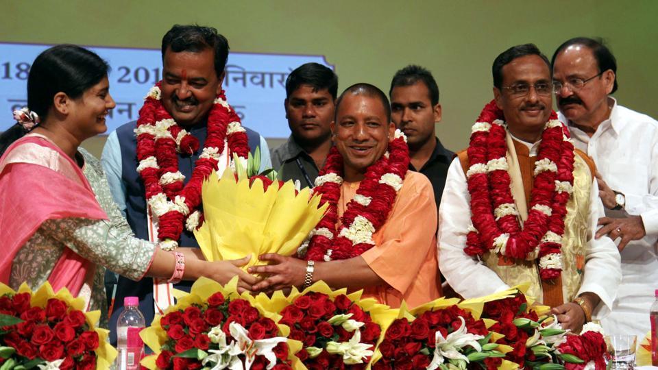 Yogi Adityanath,Swearing in,Oath taking