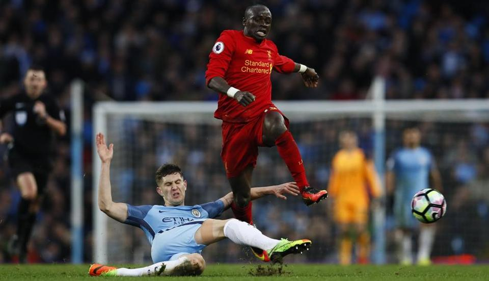 Manchester City F.C. hit back to earn a draw with Liverpool F.C. in Premier League