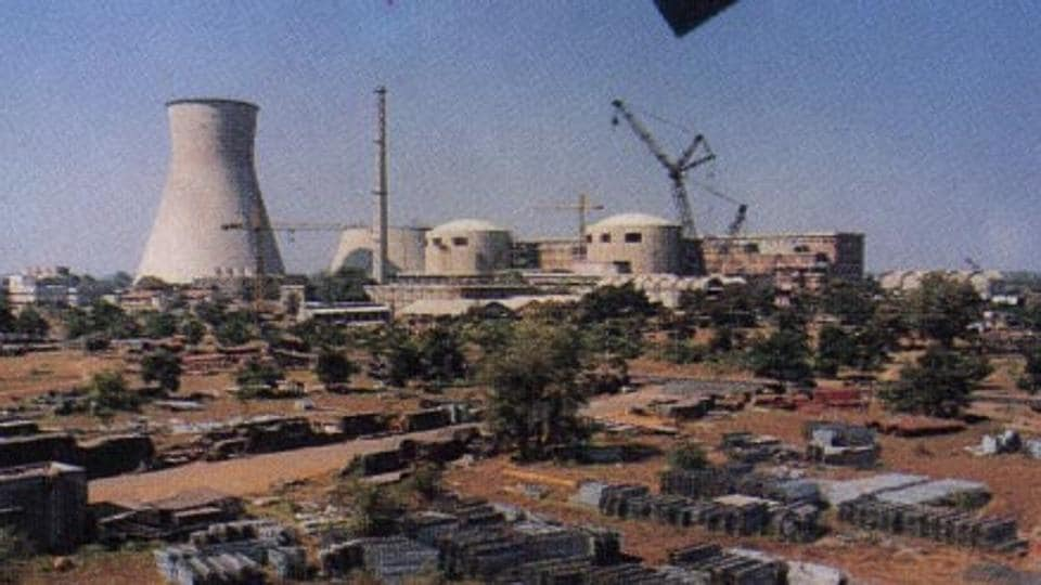 The Kakrapar Atomic Power Station at Surat.