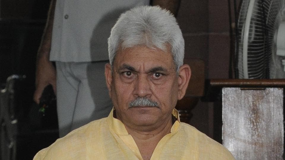 Union telecom minister Manoj Sinha was edged out of the race much before it was claimed.