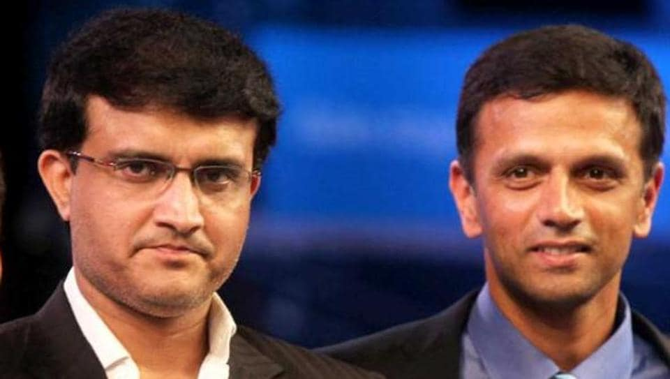 Rahul Dravid,Sourav Ganguly,Committee of Administrators