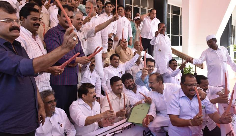 The demand for a loan waiver has had the Opposition joining hands with the ruling Shiv Sena to stall house proceedings for the past eight days. But the government was firm. It said such a step would lead to a fiscal collapse and not benefit farmers.