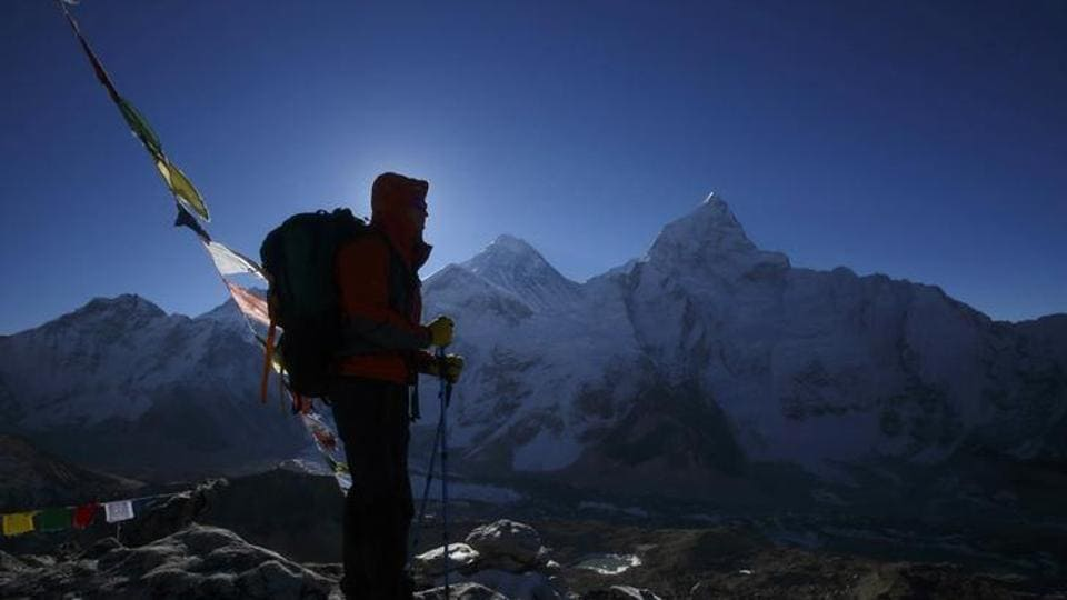 Hundreds of climbers are expected to attempt to climb the world's highest peak in April and May, but only a few will be fitted with the devices as an experiment.