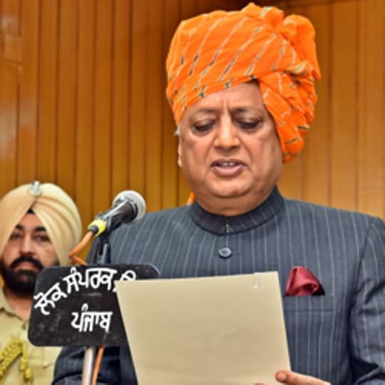Rana Kanwar Pal Singh, Congress MLA from Anandpur Sahib assembly constituency was sworn in as as pro-tem speaker of the Punjab assembly on Monday.