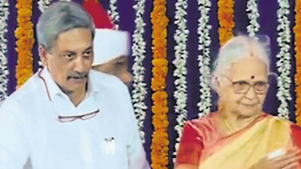 Goa governor Mridula Sinha with chief minister Manohar Parrikar. The swift manner in which the BJP formed the government in Goa and Manipur, both states where it came behind the Congress, could have only happened with advanced planning and crucial help from not just other political parties but also the Governor.