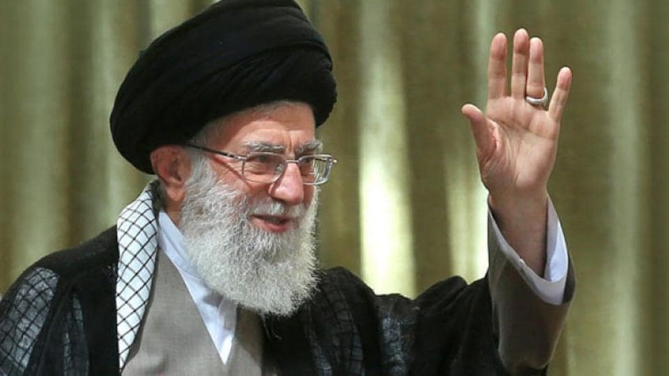 """Iran's supreme leader Ayatollah Ali Khamenei onMonday reiterated a call for a """"resistance economy"""" that prioritises domestic production."""