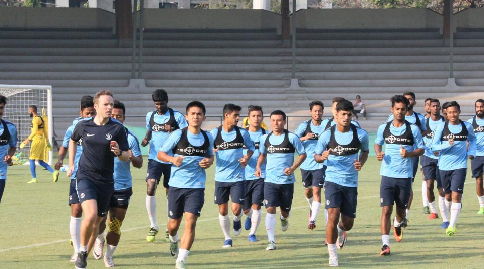 Indian football team,Lebanon,Palestine