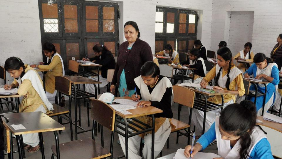 UP Board exam,High school exam,Mass copying