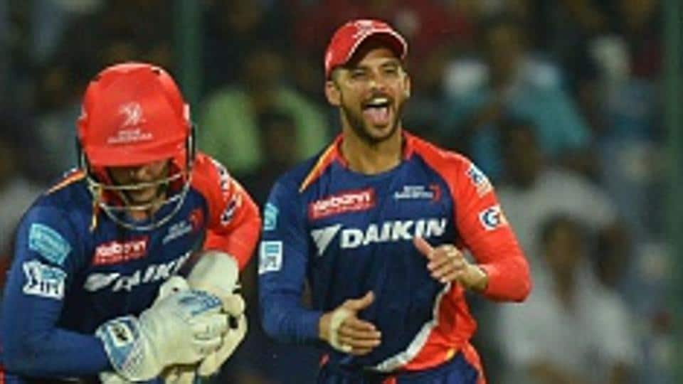 JP Duminy(right) has been playing for Delhi Daredevils in the Indian Premier League (IPL) since 2014.