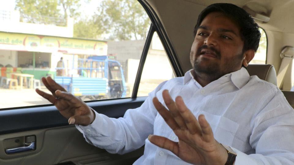 Hardik Patel,Patel quota stir,Gujarat