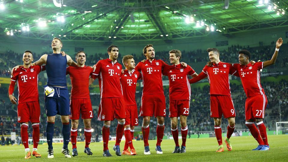 Bayern Munich,Thomas Mueller,Borussia Moenchengladbach