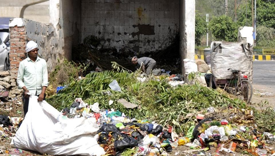 Around 660 metric tonnes of municipal waste is generated every day in Noida and 200 metric tonnes in Greater Noida.