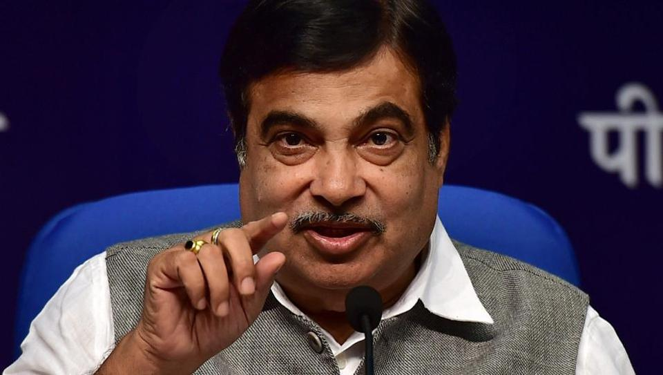 New Delhi: Union Road Transport, Highways and Shipping Minister Nitin Gadkari speaks during the launch of a curtain-raiser event on India Integrated Transport & Logistics Summit in New Delhi on Wednesday. PTI Photo by Manvender Vashist(PTI3_15_2017_000214A)