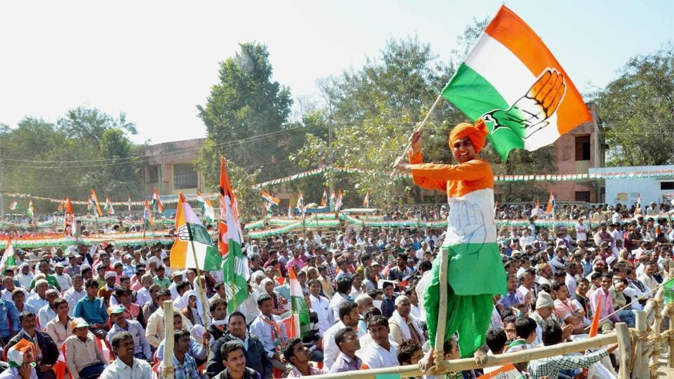 A Congress election rally at Amethi, Uttar Pradesh (File Photo)