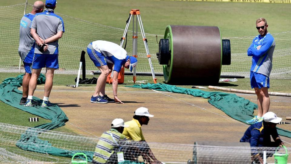 During the build-up to the third Test match, Australia cricket team as well as the media from Down Under were up in arms, speculating that the pitch in Ranchi --hosting a Test for the first time -- would not last the five days. Aussie skipper Steve Smith and the management spent a lot of time inspecting the strip too.