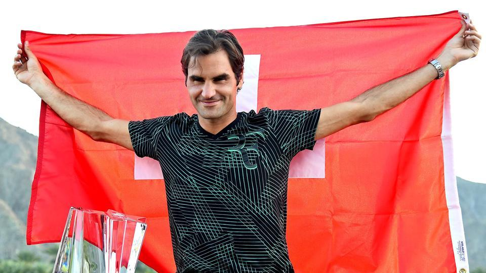 Roger Federer had more reasons to celebrate International Day of Happiness as he won the Indian Wells title for the fifth time.
