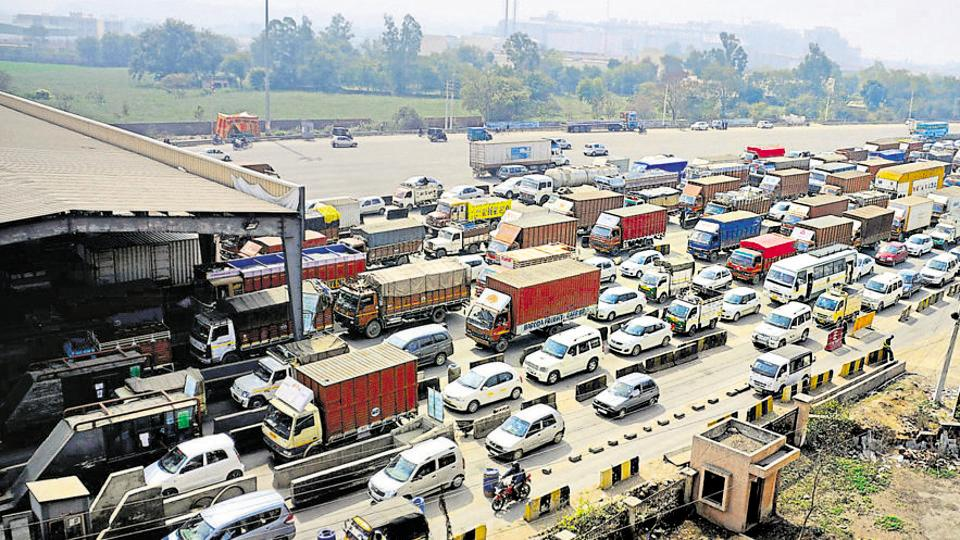 Industrialists in Manesar have repeatedly sought the removal of the Kherki Daula toll saying it causes long traffic snarls and delays delivery of products.