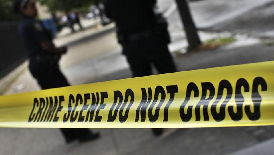 A man armed with a shotgun and a handgun opened fire on Los Angeles County sheriff's deputies Monday in the parking lot of their station, unleashing a brief gunfight that ended with the suspect likely taking his own life, authorities said.