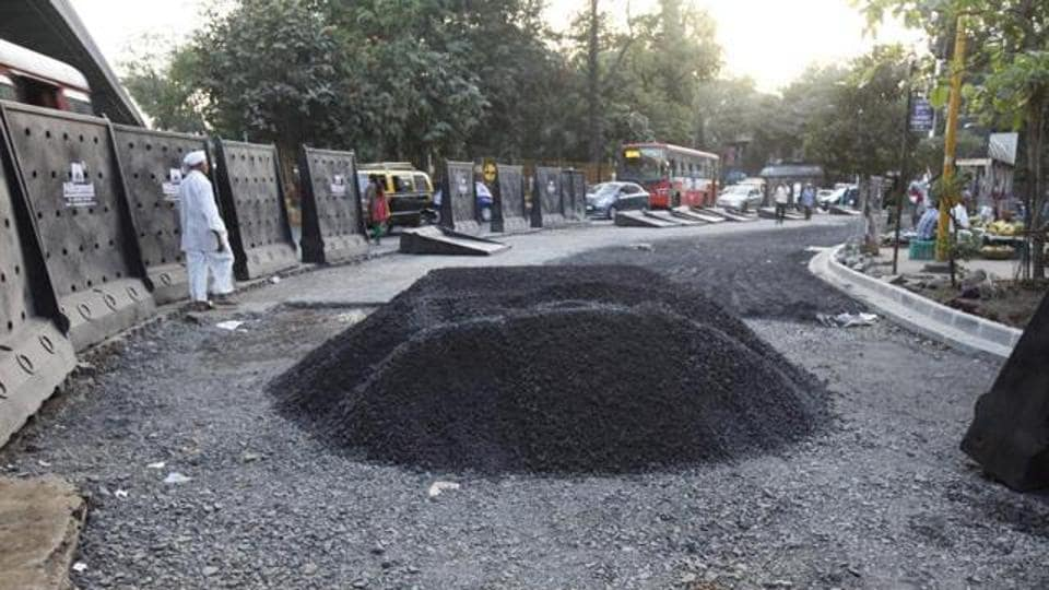 Road scam,BMC,Ajoy Mehta