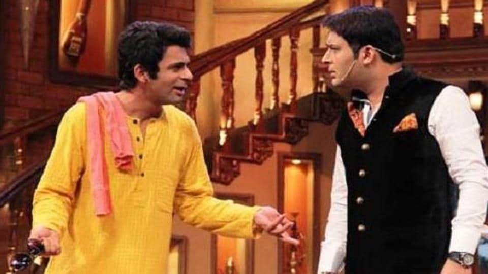 Kapil Sharma,Sunil Grover,The Kapil Sharma Show