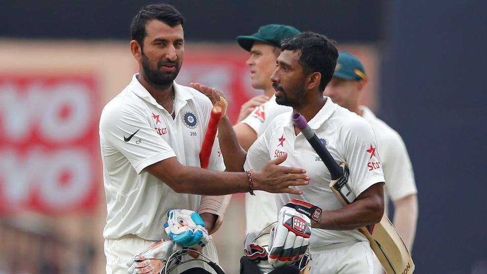 Cheteshwar Pujara,Wriddhiman Saha,Indian cricket team