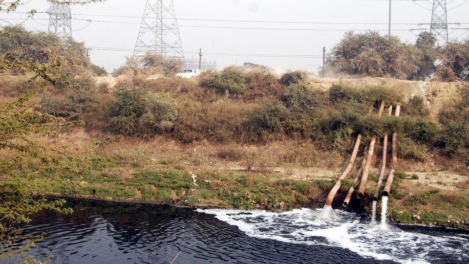 The drains empty into the two rivers, Hindon and Yamuna, that flow through Noida.