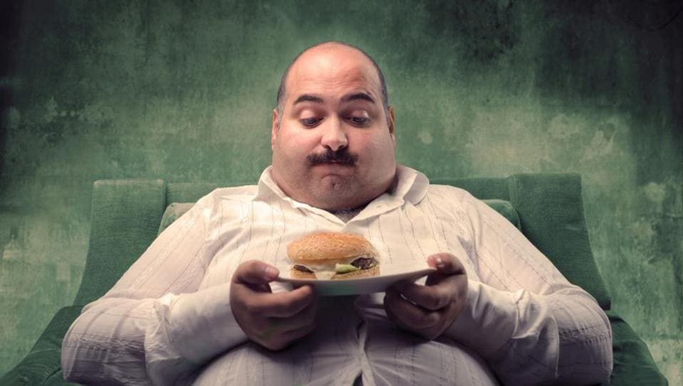 Men with high BMI should avoid having carbohydrate in the evening.