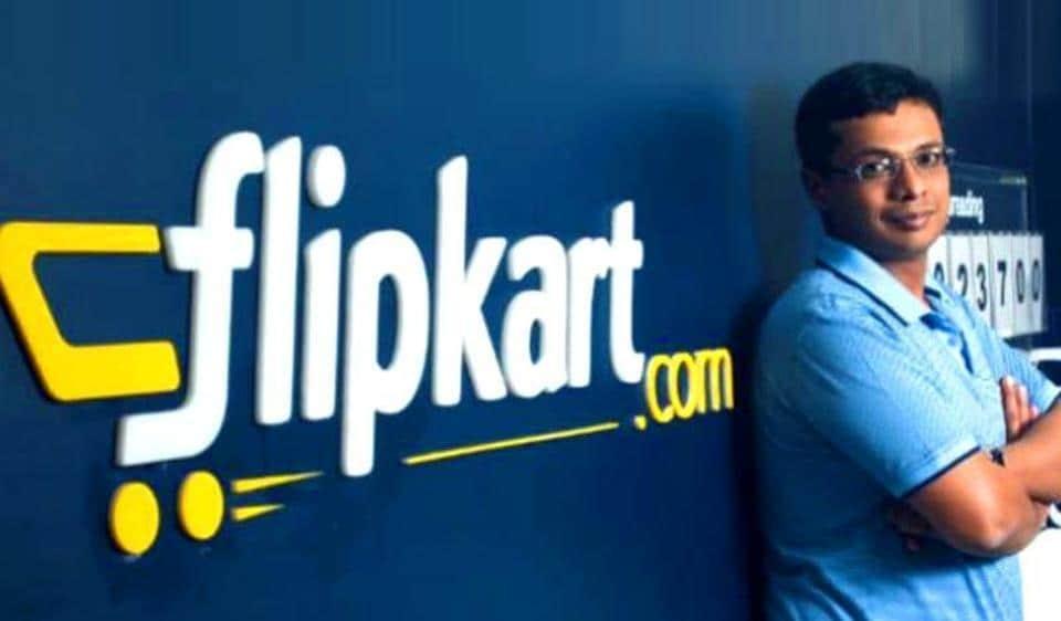 File photo of Flipkart co-founder Sachin Bansal.