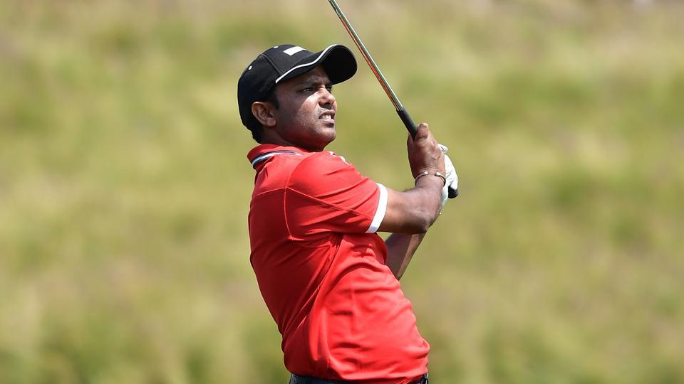 SSP Chawrasia ended three points behind the leader Chiragh Kumar on the first day of the Kolkata Classic Golf Championship.