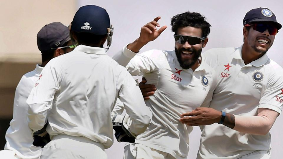Ravindra Jadeja has become the top ranked Test bowler while Cheteshwar Pujara moves up to second in ICCTest batsmen's ranking.