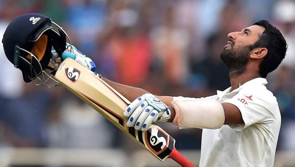 Cheteshwar Pujara's 202-run knock helped India snatch the initiative from Australia in the drawn Ranchi Test.