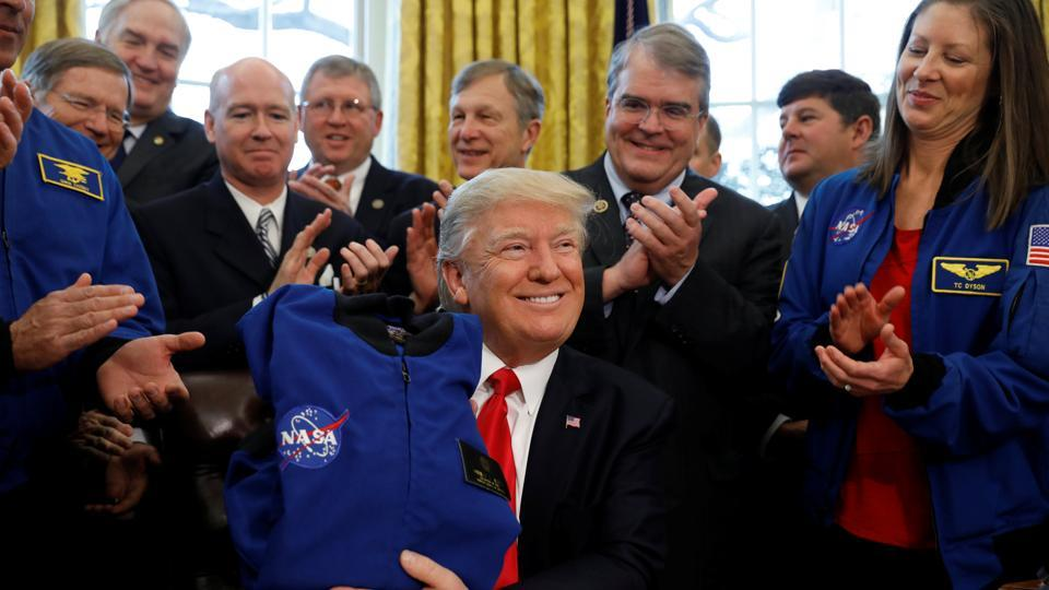 Donald Trump,Nasa,Space exploration