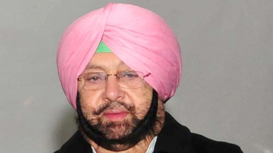 Punjab Captain Amarinder Singh