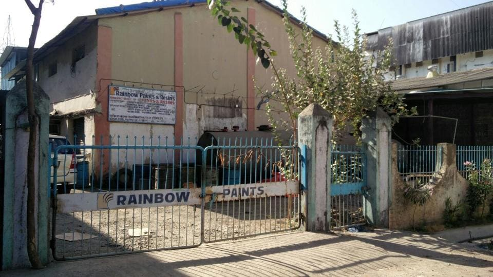 The Palghar factory, at which the DRI seized MD worth Rs10 crore on Monday.