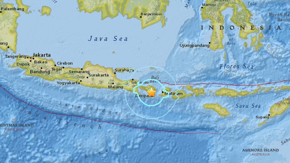 Indonesia,Earthquake,Bali