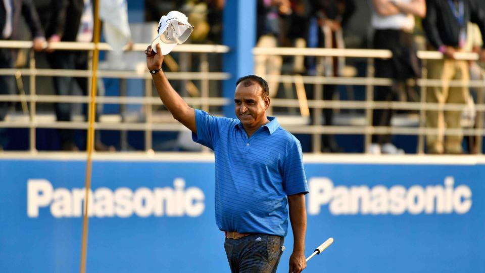 Mukesh Kumar, 51, became the oldest player to win an Asian Tour title with his triumph at the Panasonic Open tournament last year.