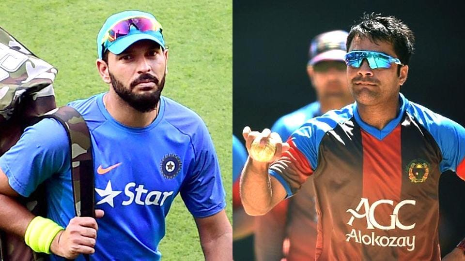 Yuvran Singh and Rahsid Khan will play for Sunrisers Hyderabad in the 10th Indian Premier League (IPL).