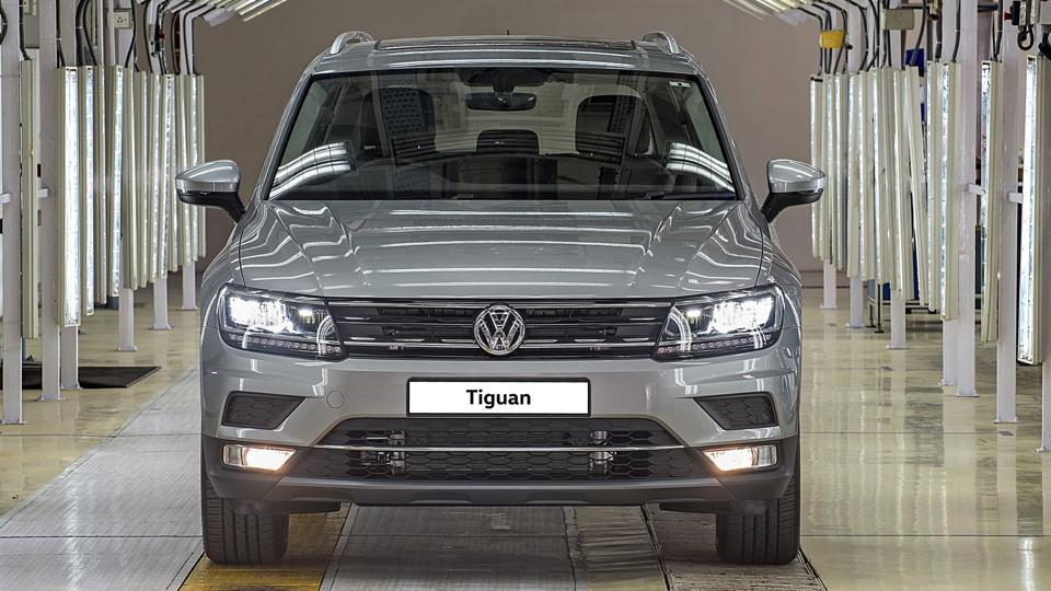 Volkswagen Tiguan will most likely be launched in May.
