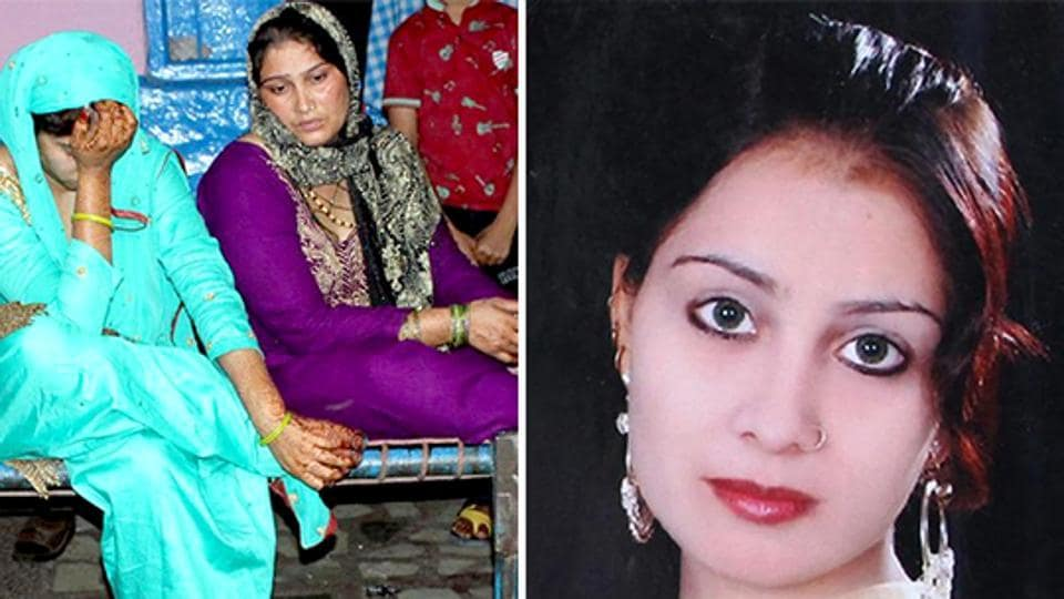 The woman, Gulistan, got engaged recently and was to get married after April.